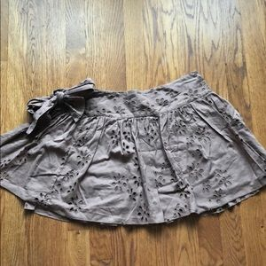 AE size 8 Brown Skirt in Like New Condition 🦅